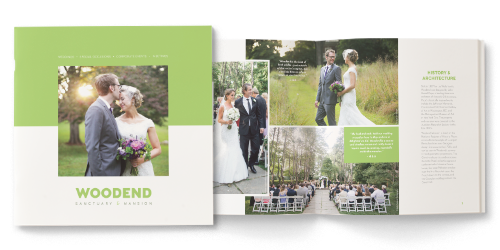 Wedding Event Brochure Woodend