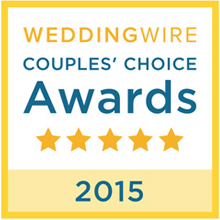 2015 WeddingWire Couple's Choice Award