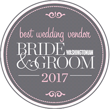 2017 Bride & Groom Washingtonian Best Wedding Vendor