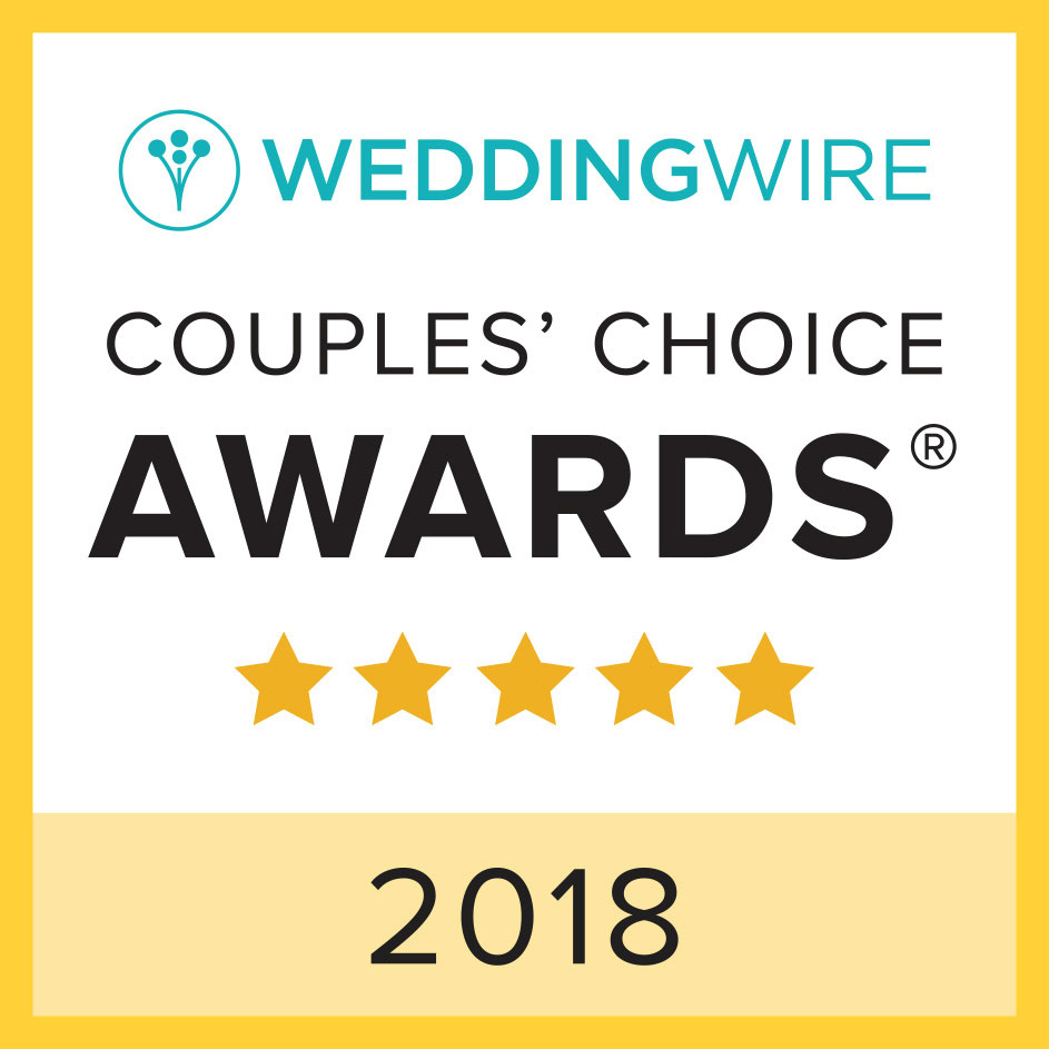 2018 WeddingWire Couple Choice Award
