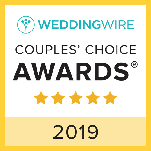 2019 WeddingWire Couple Choice Award